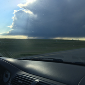 Thunderstorm in crowfoot alberta