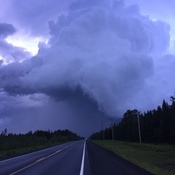 Storm over Blackville June 27