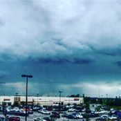 Storm Cell Over Costco