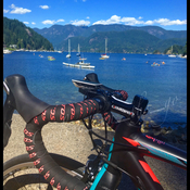 Monday ride to Deep Cove.