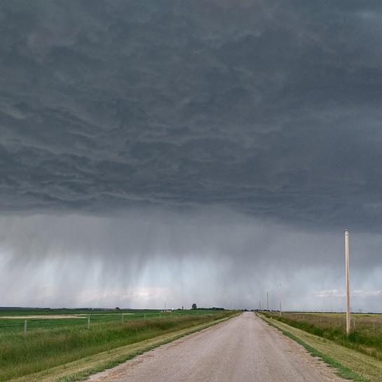 Large Storm Conrich AB Calgary, AB