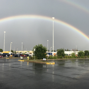 Double rainbow in ottawa