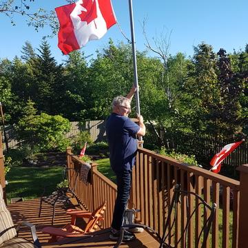 getting ready for Canada's 150th