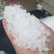 The great hail of June 2017