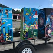 LEOS - FRIDGES - ARTISTS - OUTDOOR LIBRARIES - READ ABOUT IT!