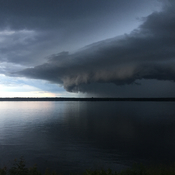 Storm over the 1000 Islands