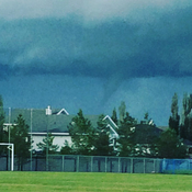 Funnel cloud!