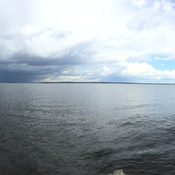 Storm coming in on lake simcoe