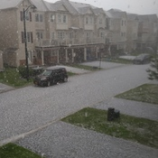 Hail Storm in June