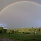 Rainbow in Midland NB