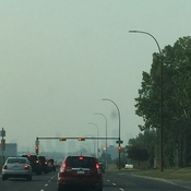 More smoke from BC wildfires.