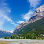 Wonderful canaduan mountains