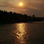 Sunset at the Bow River