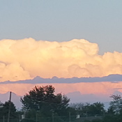 beautiful clouds Mascouche