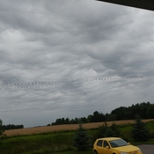unsettled sky in Alliston