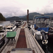 Cougar Creek RV and Camp Grounds BC ( Vancouver Island )