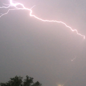 Lightning over Britannia Youngstown
