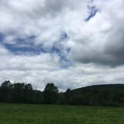 Clouds over the Farm