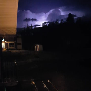 Tonights heat lightning