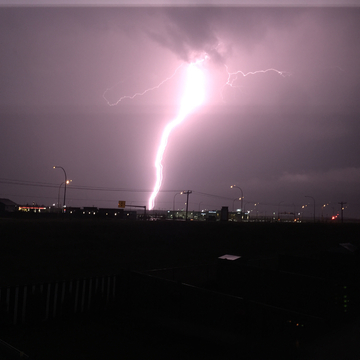 Beautiful Lightning Bolt Picture