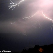 Lightning tonite!