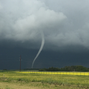 Tornado near LeRoy SK on Fri. July 21