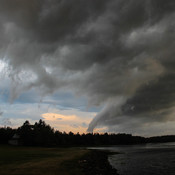 Storm Clouds rolling in over Tracadie, PEI