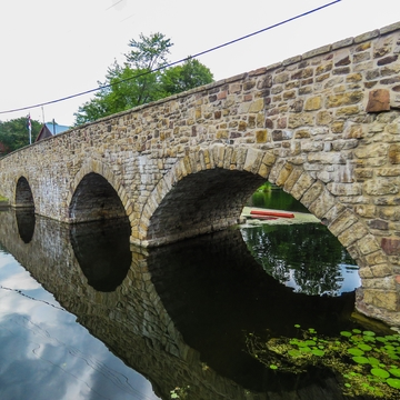 Lyndhurst stone bridge