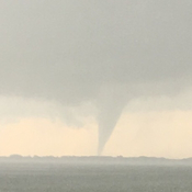 Tornado by fishing Lake sask.