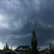 Tornado watch in Red Deer