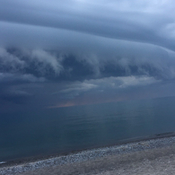Skies over Grand Bend