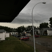 Wetaskiwin Alberta after hail storm