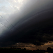 Shelf Cloud near Parkhill Ont