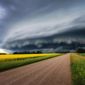 Shelf Cloud - July 23, 2017 - Leduc, Alberta