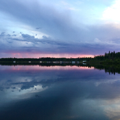 Lac La Ronge Sunset