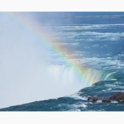 Rainbow over Niagara Falls
