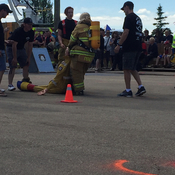 Fire fighter competition