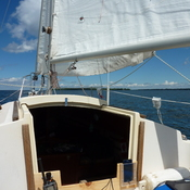 Day sail on Cooks Bay