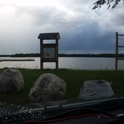 storm over Lake Wabigoon