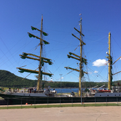 Tall ship in Cape Breton July 26th 2017 11:45am