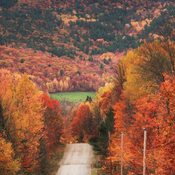 Fall in Sheenboro, Quebec