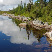 Beautiful Rocky Pond, New Harbour Barrons, NL