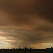 Vardent Creek Fire Smoke over Calgary
