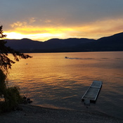 Surfing on the Shuswap