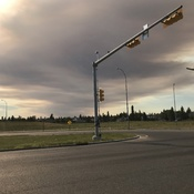 Banff smoke rolls into Calgary