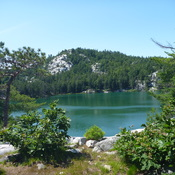 Topaz Lake in Killarney Provincial park