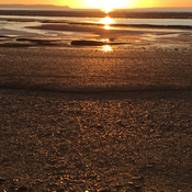 Sunset at Low Tide