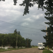 Severe thunderstorm watch, Ryley Alberta