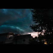 Storm - Evening of July 27, 2017 - Leduc, AB