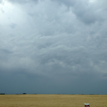 Storm Clouds Near Highway 2